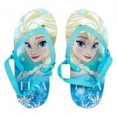 Chinelos com elástico Elsa Frozen Disney