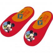 Chinelos de Veludo Mickey 12 Und