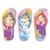 Chinelos Praia Princesas Disney Pets (pack 18 unid)