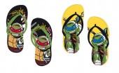 Chinelos Praia Tartugas Ninja Summer (pack 12 unid)