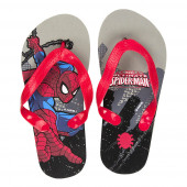 Chinelos Spiderman Cinza