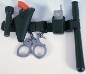 Cinturão Conj. acessórios policia