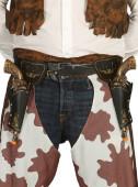 Coldre Duplo e Pistolas de Cowboy Adulto