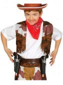 Coldre Duplo e Pistolas de Cowboy