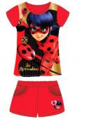 Conj Camisola calcao vermelho Ladybug