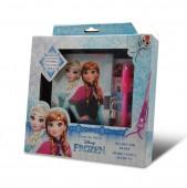Conj. diário e caneta magica Frozen