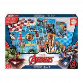 Conj Jogos 8 em 1 Avengers