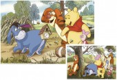 Conj. Puzzles Winnie The Pooh 2x20pcs