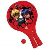 Conj Raquete e Bola Ladybug