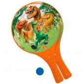 Conj Raquete e Bola The Good Dinossauro