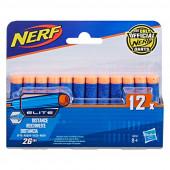 Conjunto 12 Dardos Nerf Elite