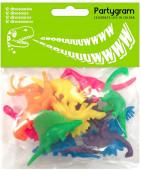 Conjunto 12 Dinossauros Brinde