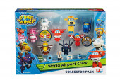 Conjunto 15 Figuras Super Wings (inclui 8 transformáveis)