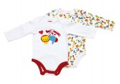 Conjunto 2 Bodys Fisher-Price