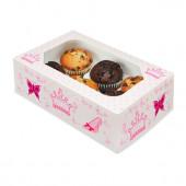 Conjunto 2 Caixas Cupcakes Princesas