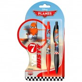 Conjunto 2 canetas Disney Planes
