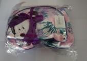 Conjunto 2 necessaire rosa Minnie Disney 23cm
