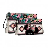 Conjunto 2 necessaires Disney Minnie Tribal