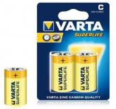 Conjunto 2 pilhas tipo C VARTA