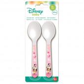 Conjunto 2 Talheres Minnie Disney