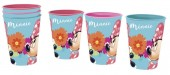 Conjunto 3 copos de Minnie Mouse 260ml - Bloom