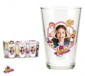 Conjunto 3 copos vidro de Sou Luna