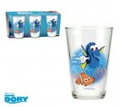 Conjunto 3 copos vidro Dory