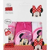 Conjunto 3 cuecas Minnie Mouse
