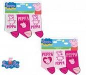 Conjunto 3 meias Porquinha Peppa