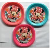 Conjunto 3 Pratos Minnie Disney