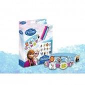 Conjunto 3 pulseiras e acessorios Frozen