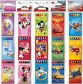 Conjunto 3x6 lápis cera Disney Sortido