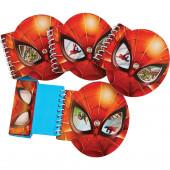Conjunto 4 Cadernos Atividades com Lápis Brinde Spiderman