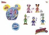 Conjunto 5 Figuras Articuladas Disney - Racers