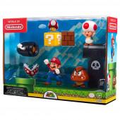 Conjunto 5 Figuras Super Mario