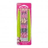 Conjunto 5 lápis c/ borracha Minnie