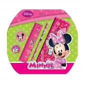 Conjunto 5 peças Papelaria Minnie