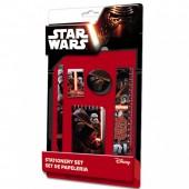 Conjunto 5 Peças Papelaria Star Wars