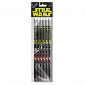 Conjunto 6 Lapis Star Wars