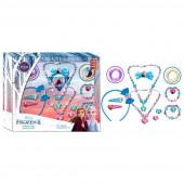 Conjunto Acessórios Cabelo e Bijuteria Frozen 2 - 15 peças