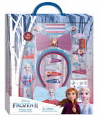 Conjunto Acessórios Cabelo Frozen 2 - 34 peças