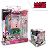 Conjunto Acessórios Cabelo Minnie 8 peças