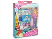 Conjunto Acessórios Cabelo Princesas 8 peças