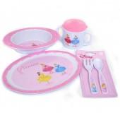 Conjunto Almoço princesas Disney Princess