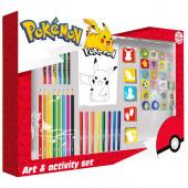 Conjunto Atividades Pokémon 67 peças