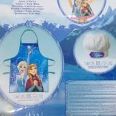 Conjunto Avental + Chapeu Frozen