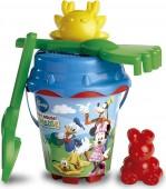 Conjunto balde + acessórios Mickey/Minnie