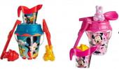 Conjunto balde praia com Mickey/Minnie