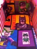 Conjunto Batman cama de grades