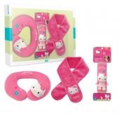 Conjunto bolsa necessaire Viagem Hello Kitty